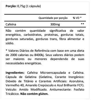 Linolen Linolaser Caffeine Composição