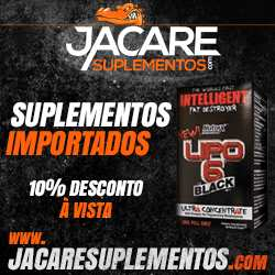 Banner lipo 6 black ultra concentrado Jacare Suplementos