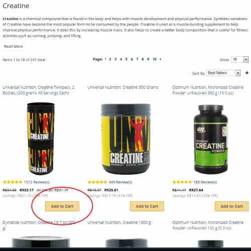 Como comprar suplementos no site HealthDesigns 3