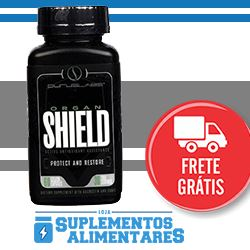 Banner Organ Shield Loja Suplementos Alimentares