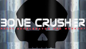 Bone Crusher Black Skull