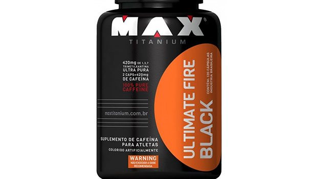 Suplemento Ultimate Fire Black Max Titanium