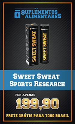 banner sweet sweat sports research loja suplementos